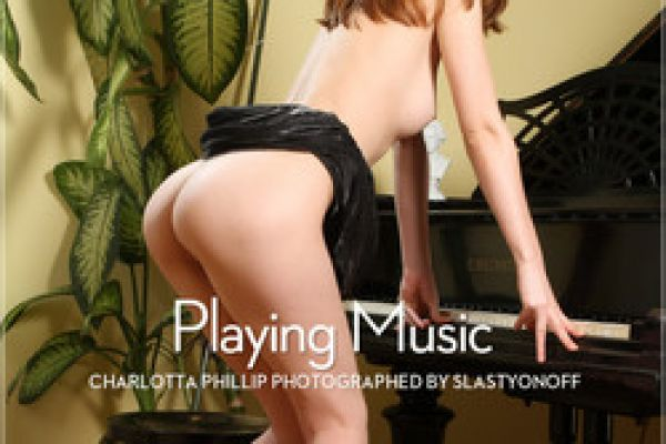 Charlotta Phillip in Playing Music by Slastyonoff